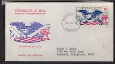 MALI 1976 FIRST DAY COVER US BICENTENNIAL AMERICAN EAGLE FLAG LIBERTY BELL