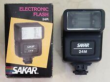 SAKAR 24m Electronic Flash. Tested Working.