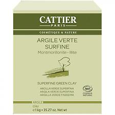 CATTIER Argile Verte Fine Bio 1kg
