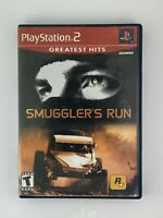 Smuggler's Run - Playstation 2 PS2 Game - Complete & Tested