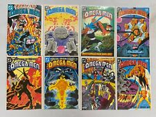 Omega Men lot* #1-38 + 2 Annuals 1st Series 38 diff books avg 8.5 VF+ (1983-'86)