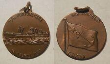 medaglia Sicilnaviglio Genova moto nave Portovenere 1961 marina