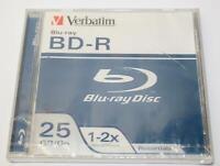 Verbatim BD-R Blu-Ray Disc Recordable Blank CD 25GB 1-2X Speed