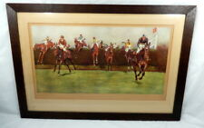 Cecil Aldin Grand National Valentines Pencil Signed Artists Proof Horse Racing
