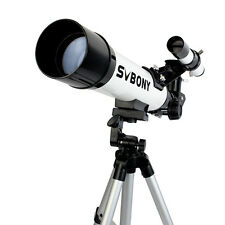 SVBONY 420/60mm Astronomical Refractor Telescope+CellPhone MountAdapter+Tripod