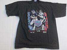 Vintage Superbowl Xxv Salem Sportswear Black T Shirt Giants/ Bills
