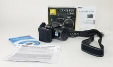 Nikon Coolpix L340 20.2 MP Digital Camera With Strap + Box + Guide + More
