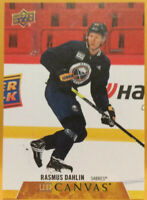 Rasmus Dahlin UD Canvas Insert C8 Upper Deck 2020 Hockey Series 1