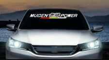 Mugen Power Stickers Windshield Decals Banners JDM Honda Acura