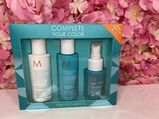 Moroccan Oil Complete Your Color TRAVEL SET SHAMPOO CONDITIONER PROTECT SPRAY