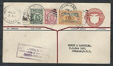 Panama covers 1929 uprated 1st Flightcover to Curacao