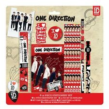 OFFICIAL ONE DIRECTION 12 PIECE STATIONERY SET NEW PACKAGED