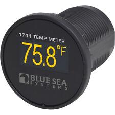 Blue Sea Systems 1741 Medidor Digital De Temperatura OLED Mini