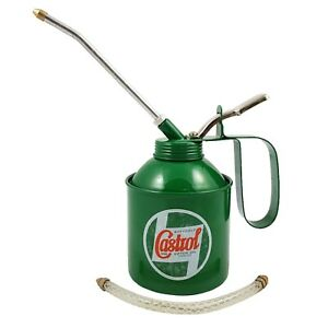 Genuine Classic Vintage Castrol Oil Can Lever Type 500ml