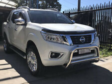 Polished Alloy Nudge Bar For Nissan Navara NP300 2015-2018 (With Light Tab)