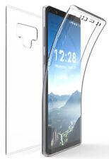 Tri-Max Clear Screen Guard Full Body TPU Wrap Case Cover for Galaxy Note 9