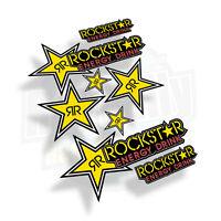 ROCKSTAR StickerBomb pack - Race Track Stickers Decals Graphics - WSB BSB MX. A4