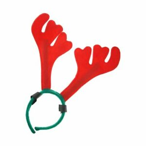 Horse Antlers with Hoop and Loop Attachment Christmas **FREE UK POSTAGE**