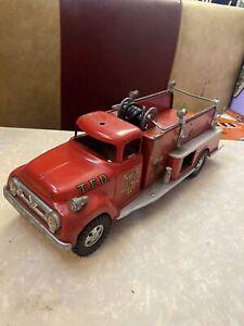 Vintage 1957 Mound Minn Tonka Pressed Steel No.5 Pumper TFD Fire Truck PARTS USA