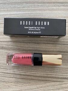 NEW Bobbi Brown Luxe Liquid Lip High Shine Shade 3 Italian Rose
