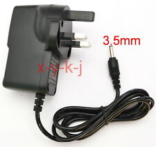 UK AC 100V-240V DC 7.5V 1A Switching Power Supply 1000mA Adaptor 3.5mm x 1.35mm
