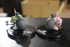 Congalala & Emerald Congalala Monster Hunter Soul of Hyper Figuration figures