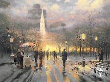 """Thomas Kinkade,""""BOSTON CELEBRATION"""" Two (2) Postcards ***NEW***"""