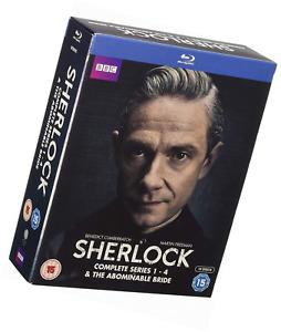 Sherlock-Series 1-4 & Abominable Bride [Import]