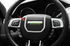 ABS Chrome Interior Steering wheel cover trim For Range Rover Evoque 2012-2018