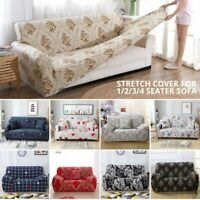 1 2 3 Seater Easy Stretch Sofa Cover Couch Lounge Recliner Slipcover Protector