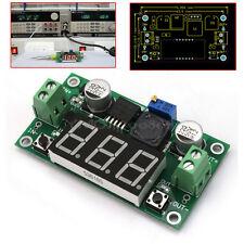DC-DC Módulo LM2596 Voltage Regulador con LED Voltímetro 4.0-40V a 1.25V -37V