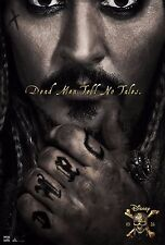 Pirates of the Caribbean Dead Men Tell No Tales Movie Poster (24x36) - Depp v2