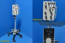 2007 Biomed Devices IC-2A Transport Ventilator W/ Air Oxygen Blender+Stand~21788