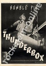 Humble Pie Thunderbox AMLH 63611 MM4 LP Advert 1974