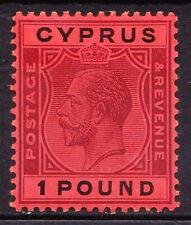 Cyprus 1924 GV SG102 fine mint, cv £300