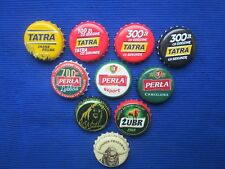 Poland Bottle Caps of beer 10 pcs. - -  Polskie Kapsle z piwa 10 szt.