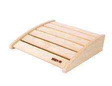 ISIDOR Ergonomische Kopfstütze 40 x 50 cm aus Espenholz für die Sauna
