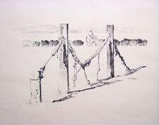 PETER MCINTYRE Signed Original Ink Drawing - LISTED