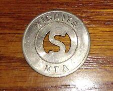1974 Wichita MTA Wichita, KS Transit Bus Token $8.95