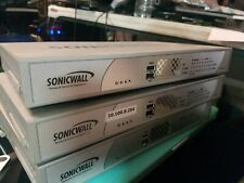 3x Lot Sonicwall NSA 240 Firewall Network Security Appliance P/N: APL19-05C UESD