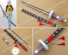 One Piece Cosplay Surgeon Of Death Trafalgar Law 140CM Katana Sword Weapon Props