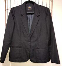 Panther Black Blazer Jacket Women's M 10-12