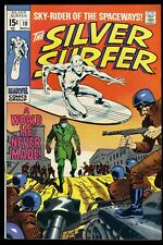 Silver Surfer #10 VF- 7.5 Marvel Comics (Former CBCS VF 8.0)