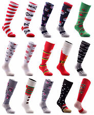 SAMSON® CHRISTMAS SOCKS THICK WINTER NOVELTY NORDIC XMAS LADIES WOMENS MENS KIDS