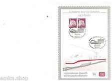 Deutschland Aufnahme des ICE Verkehrs nach Berlin  23.05.93