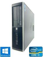 HP Elite 8300 SFF - 500GB HDD, Intel Core i3-3220, 8GB RAM - Win 10 Pro