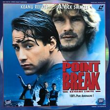 LASERDISC -  POINT BREAK - WS VF RM PAL - Patrick Swayze, Keanu Reeves