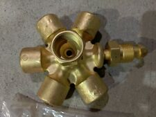 New listing Western Enterprises Mb-70 / Cga-580 Brass Manifold Block Assembly