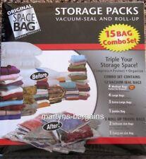 15 SPACE SAVER STORAGE BAGS VACUUM SEAL VAC PACK