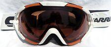 $160 Carrera Womens Dahlia White winter snow Ski Goggles Ladies Polarized Lens!!